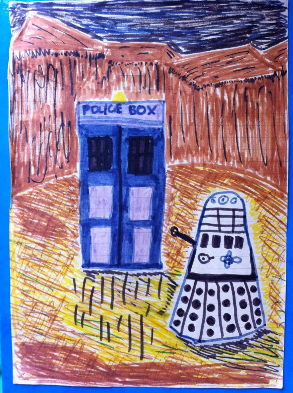 Steven Moffat's sketch of next year's Dr Who story arc