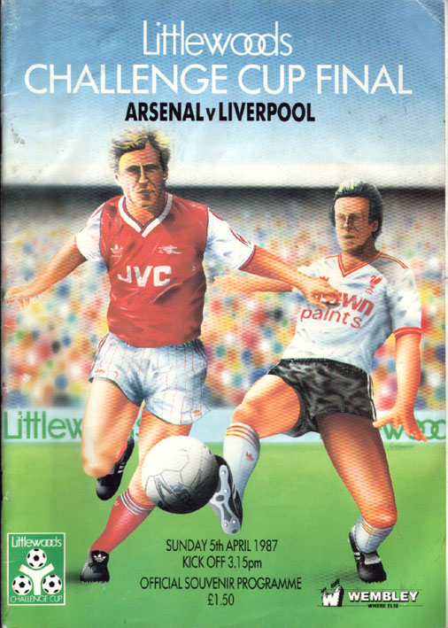 Do football programmes still have illustrated covers?