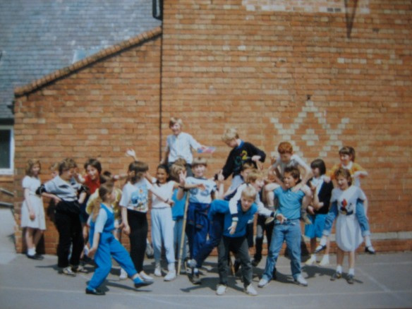 Class 4, Emmanuel Primary School, 3 July 1987